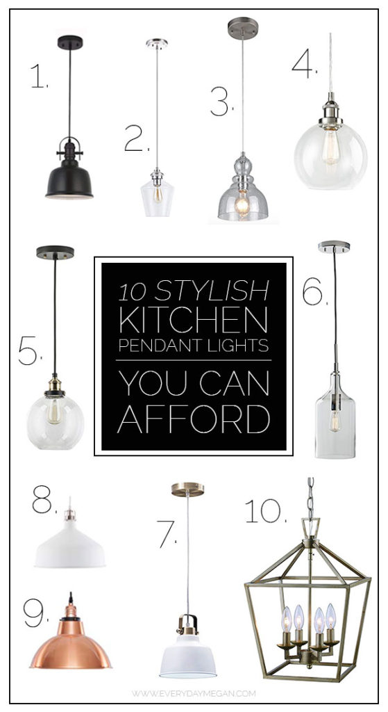 Kitchen Pendant Lighting That Is Affordable Everyday Megan