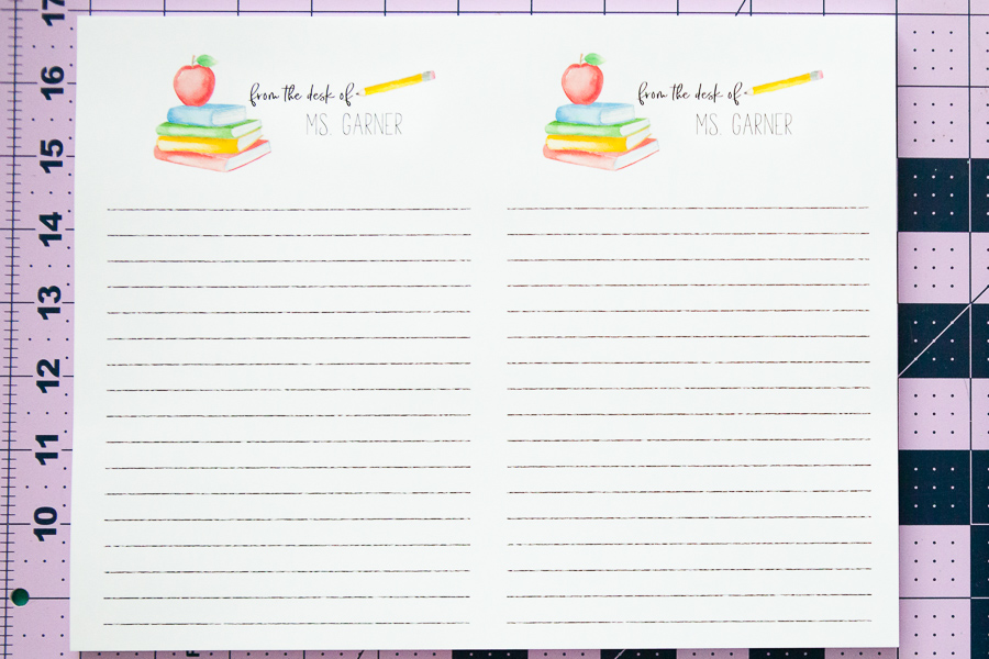How To Make A Diy Personalized Notepad Everyday Megan